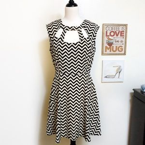 ModCloth Chevron Dress
